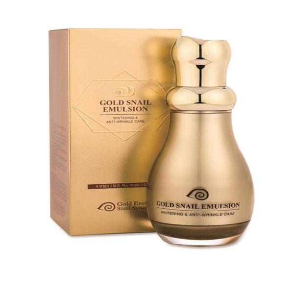 Gold Energy Snail Synergy 24K Gold Snail Emulsion (130ml)