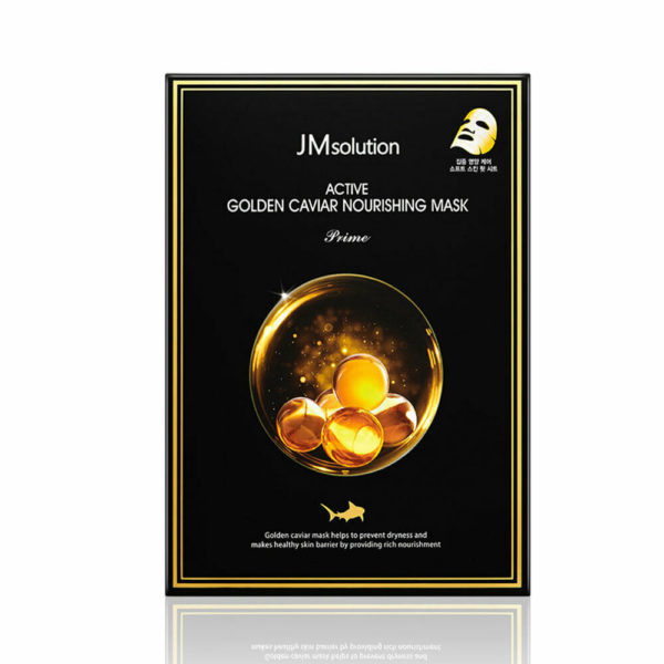 JM SOLUTION Active Golden Caviar Nourishing Mask (10pcs)