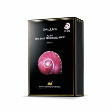 JM SOLUTION Active Pink Snail Brightening Mask (10pcs)