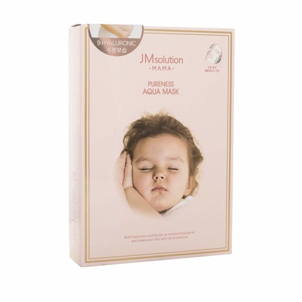 JM SOLUTION MAMA Pureness Aqua Mask (10pcs)
