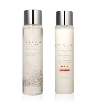 KICHO Leaf Recipe Essence Toner + Balancing Booster Fluid Set