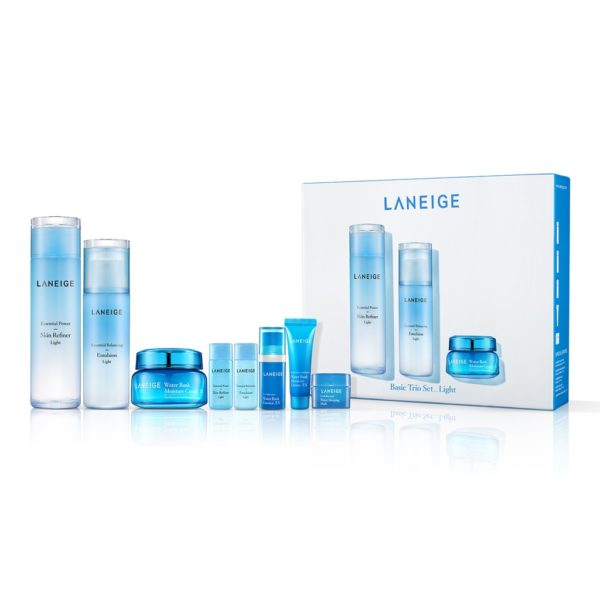 Laneige Basic Trio Set - Light (8 items)