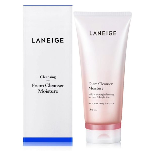 Laneige Foam Cleanser Moisture (180ml)