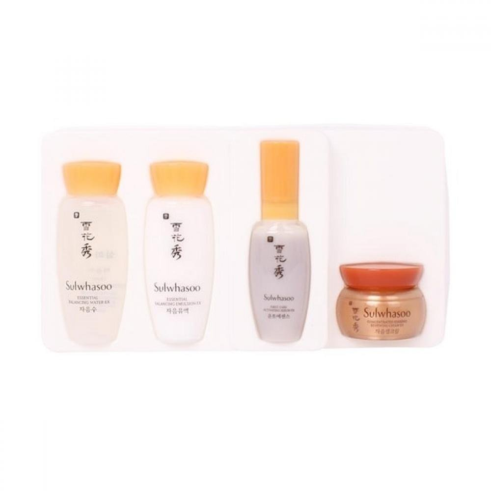 Sulwhasoo Basic Care Kit Set B (4 Items)