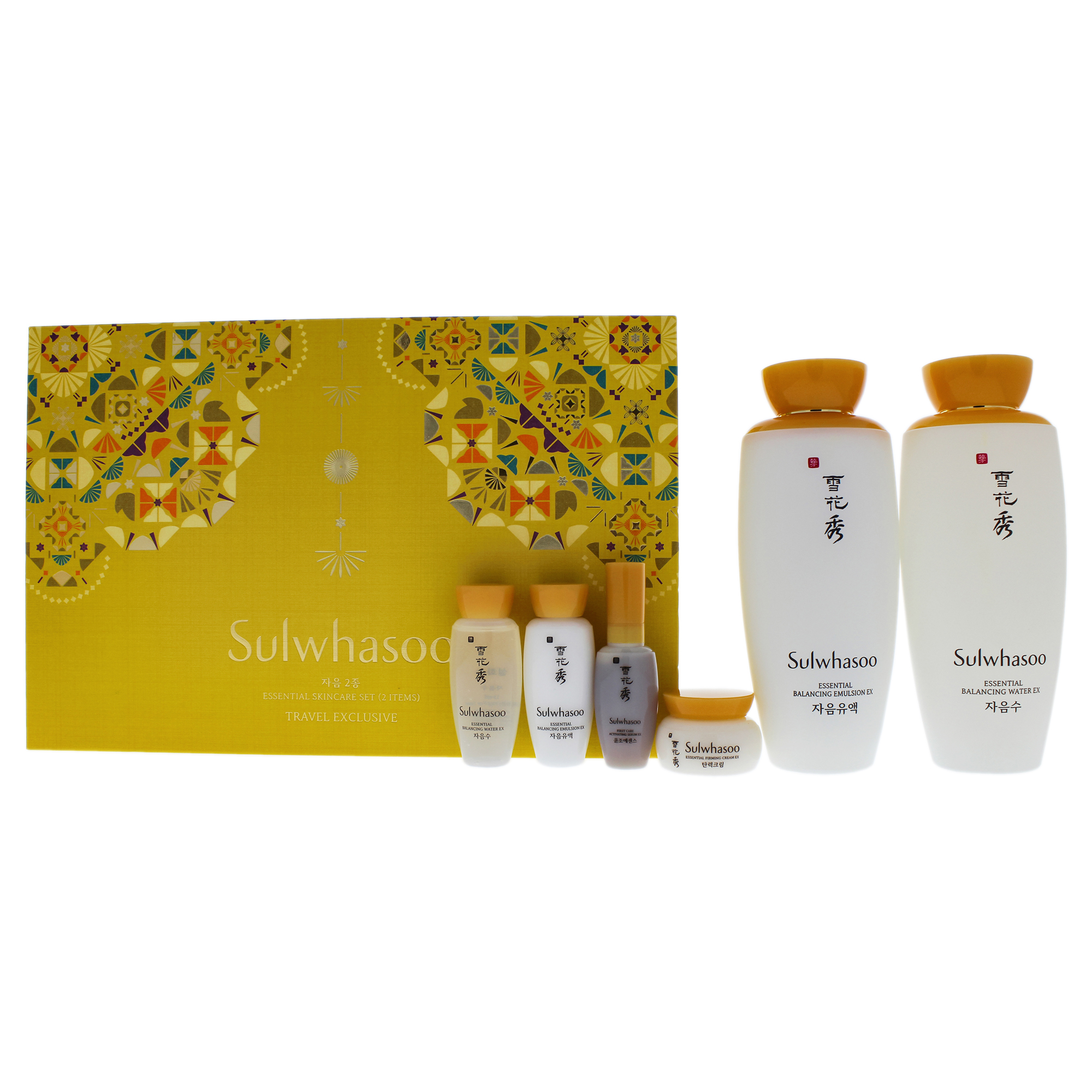 Sulwhasoo Travel Exclusive Essential Skincare Set (6 items)