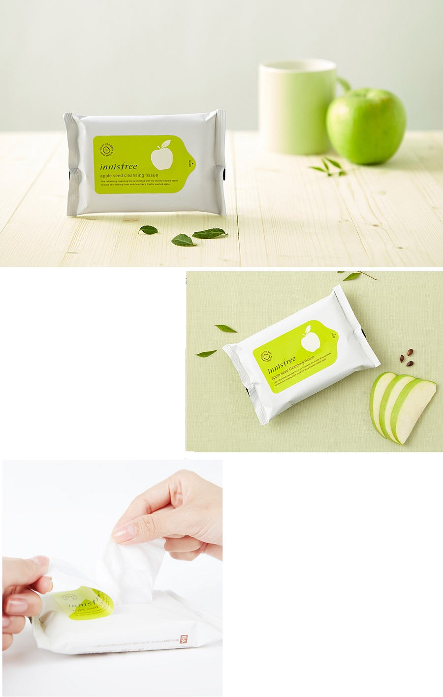 Innisfree Apple Seed Cleansing Tissue