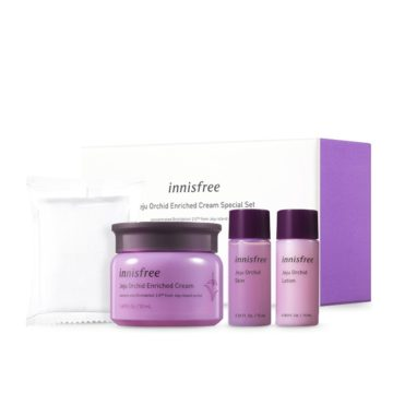 Innisfree Jeju Orchid Enriched Cream Special Set