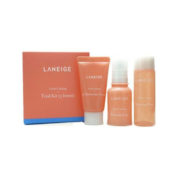 Laneige Fresh Calming Trial Kit (Pink)