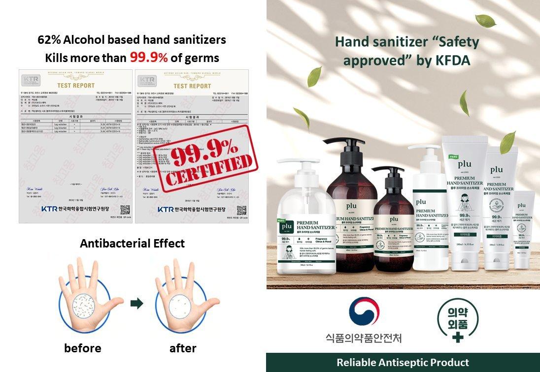 PLU Premium Hands Sanitizer