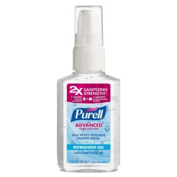 Purell Original Pump Hand Sanitizer Refreshing Gel