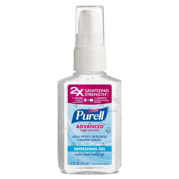 Purell Original Pump Hand Sanitizer Refreshing Gel