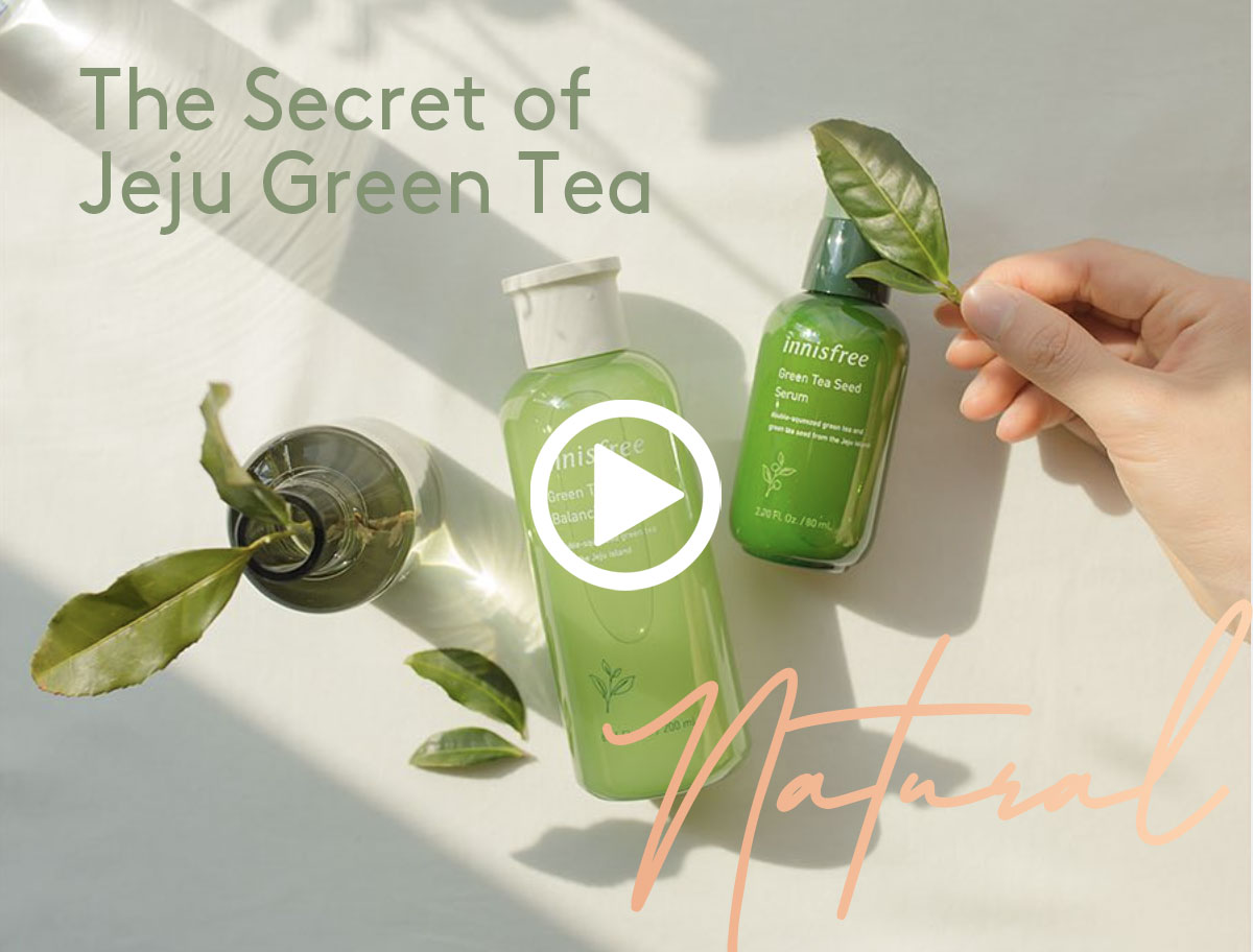 The Secret of Innisfree's Jeju Green Tea Seed