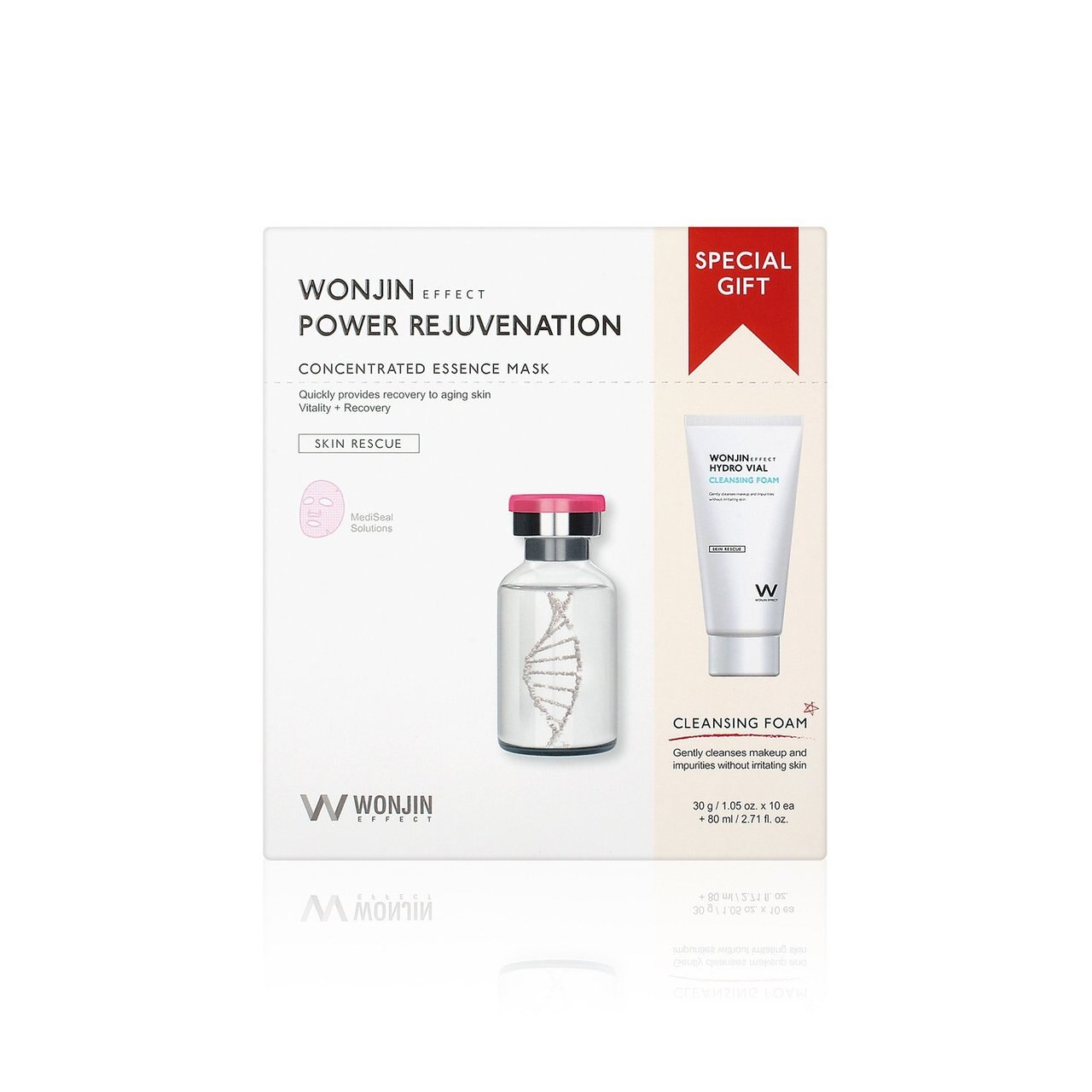 Wonjin Effect Power Rejuvenation Concentrated Essence Mask & Cleansing Special Kit