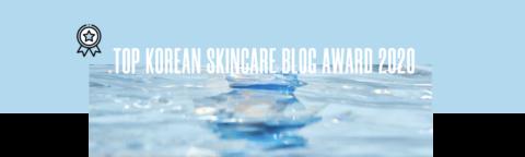 Top Korean Skincare Blog Award 2020