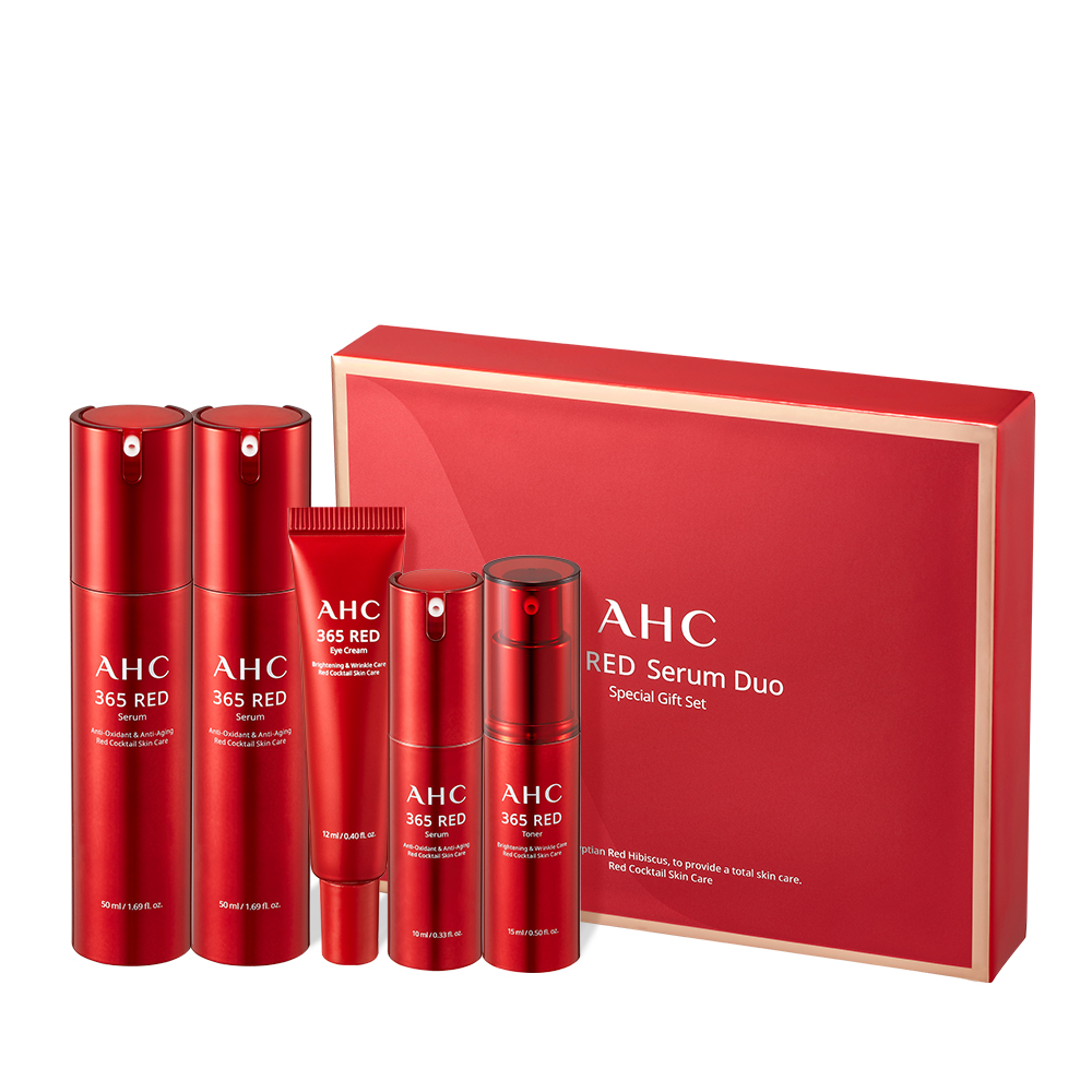AHC 365 Red Serum Duo Special Gift Set