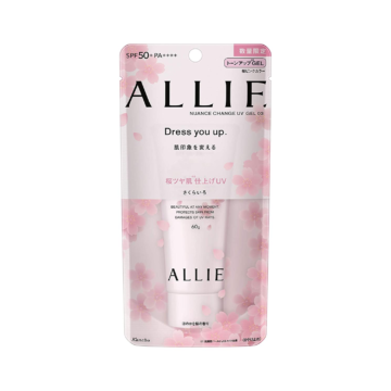 Kanebo ALLIE Nuance Change UV Gel (Sakura Pink)