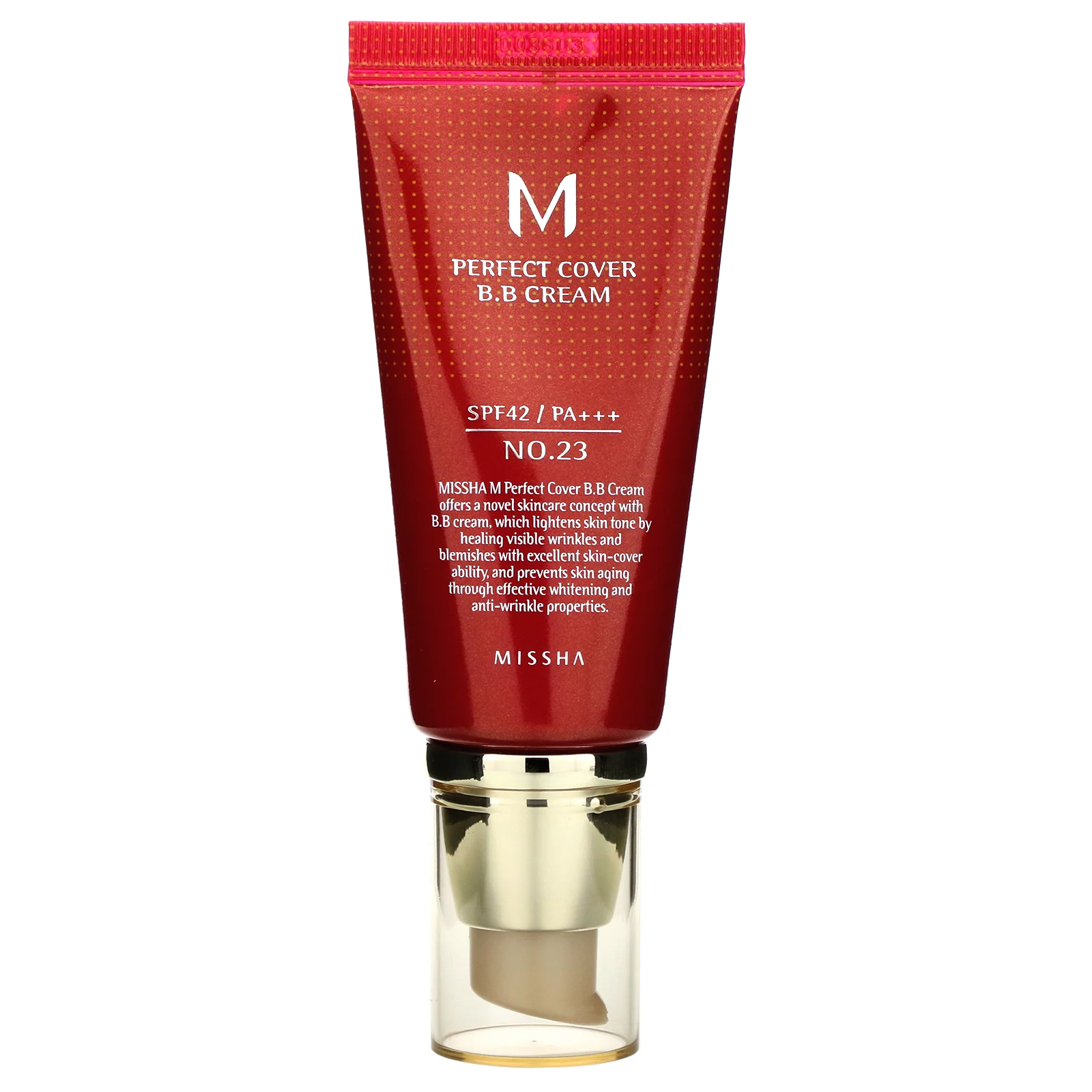 MISSHA M Perfect Cover BB Cream #23 Natural Beige