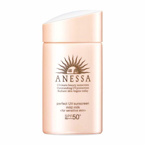 Shiseido Anessa Perfect UV Sunscreen Mild Milk SPF 50+ PA++++