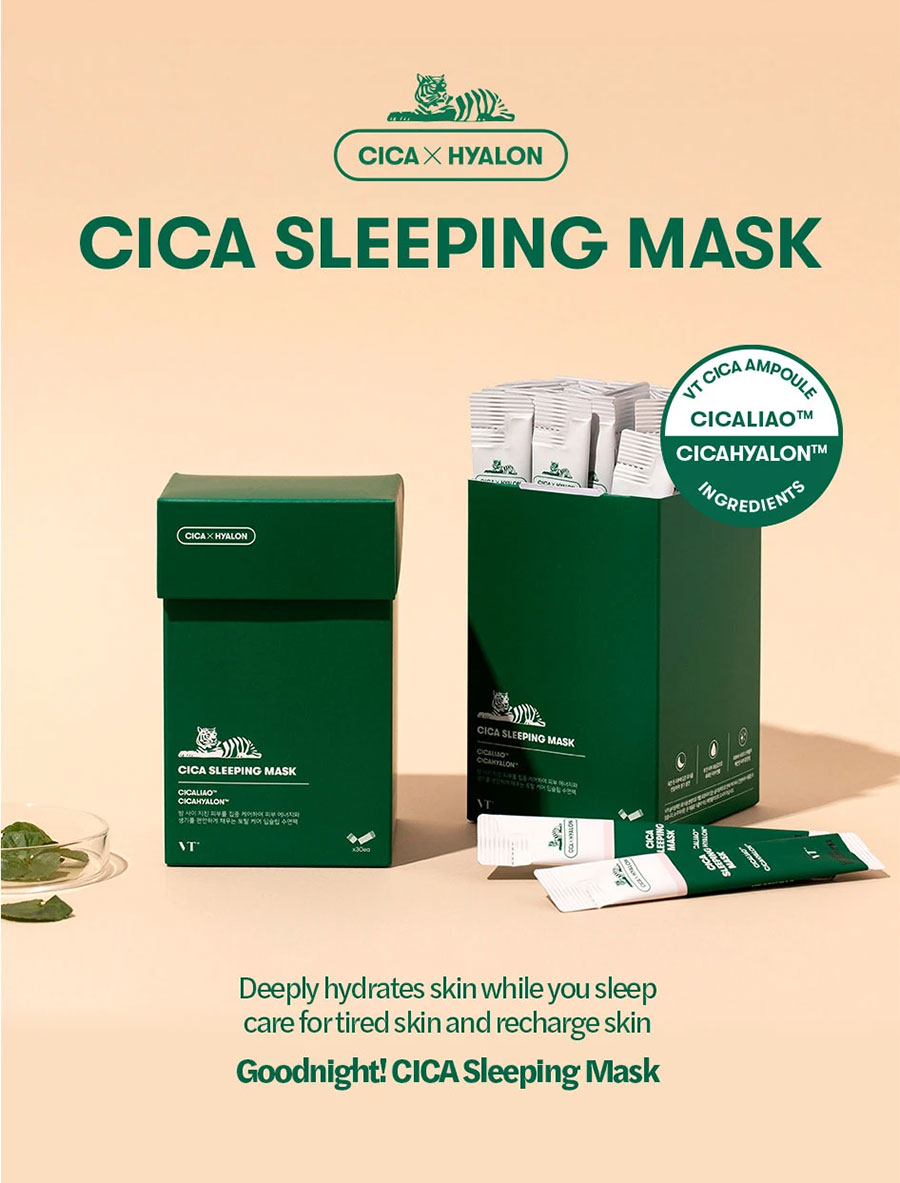 VT Cica Sleeping Mask