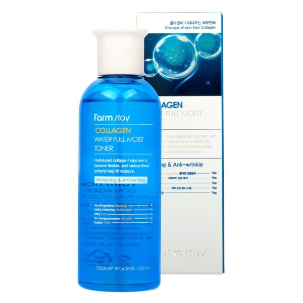 Farm Stay Collagen Water Full Moist Toner