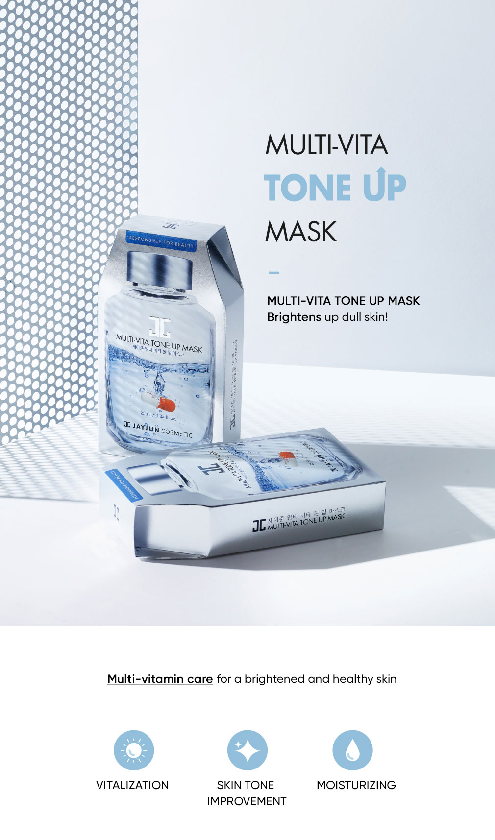 Jayjun Multi-Vita Tone-up Mask