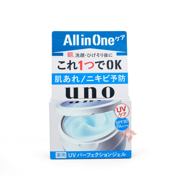 Shiseido Uno All In One UV Perfection Gel SPF 30 PA+++