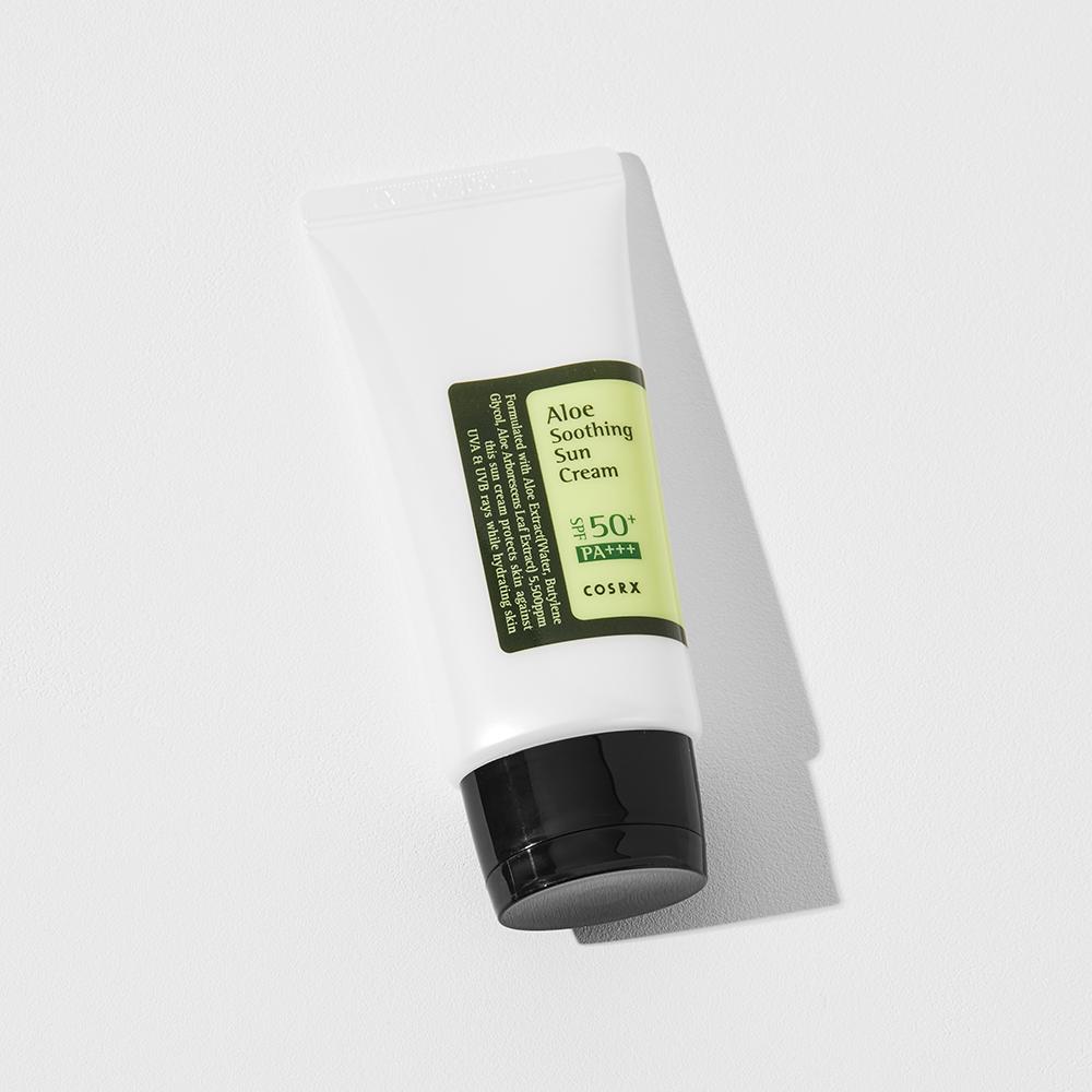 Trending Sunscreen - COSRX Aloe Soothing Sun Cream