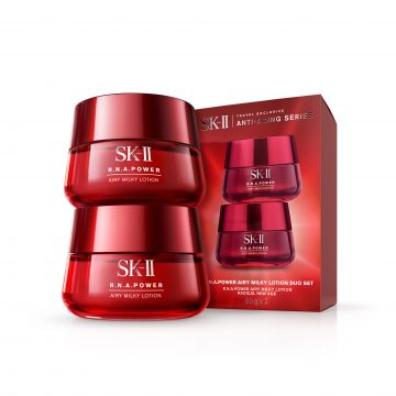 SK-II R.N.A. POWER Airy Milky Lotion Duo Set