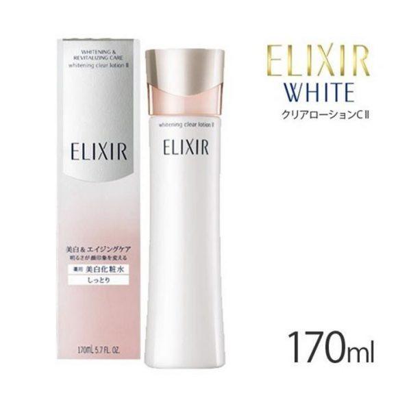 Shiseido ELIXIR Whitening Clear Lotion II (Moist)