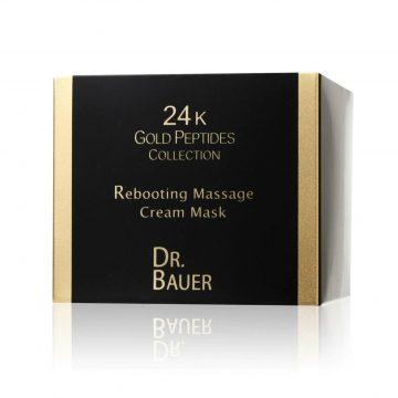Dr. Bauer 24K Gold Peptides Collection Rebooting Massage Cream Mask