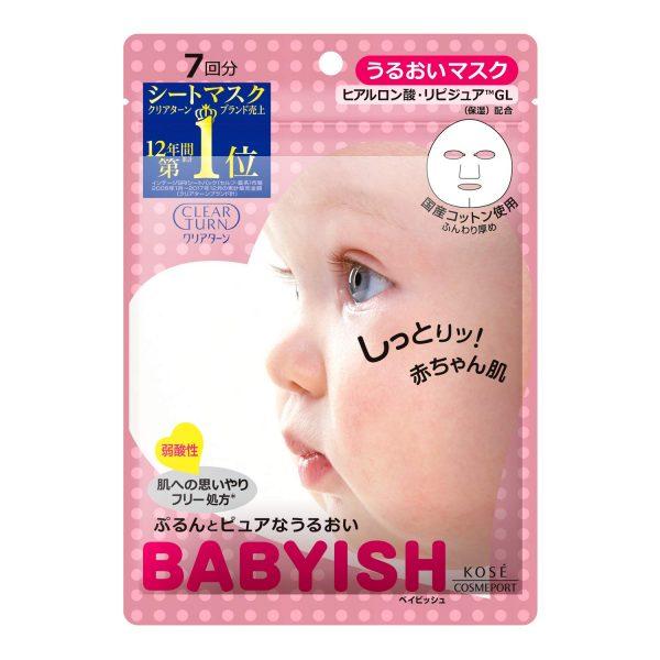 Kose Clear Turn Babyish Moisturizing Mask