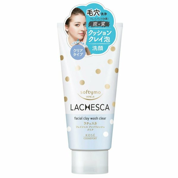 Kose Softymo Lachesca Facial Clay Wash Clear