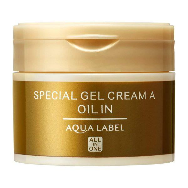 Shiseido AQUALABEL Special Gel Cream Oil In