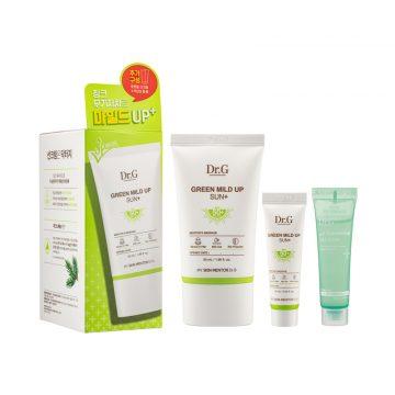 Dr. G Green Mild Up Sun+ Set SPF50+PA++++ (3 Items)