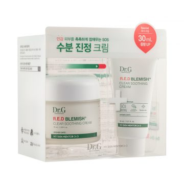 Dr. G R.E.D Blemish Clear Soothing Cream Bonus Pack (2 Items)