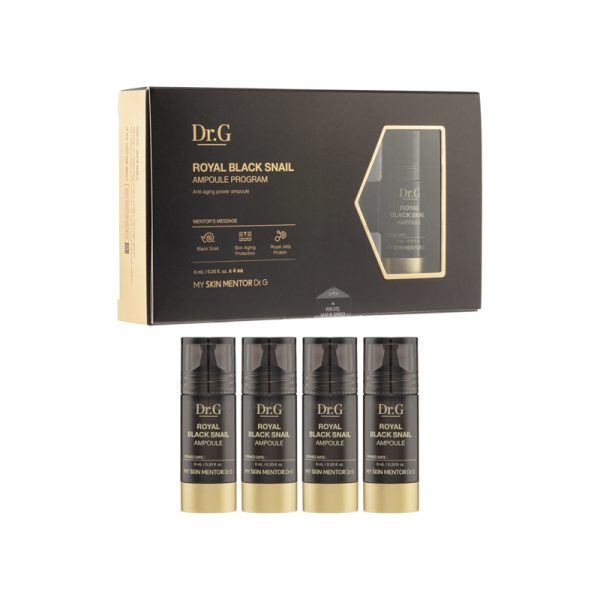 Dr. G Royal Black Snail Ampoule (4 Items)