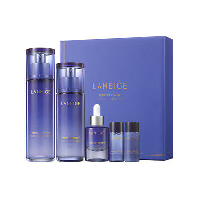 Laneige Perfect Renew Anti-Aging Skincare Duo Set (5 Items)